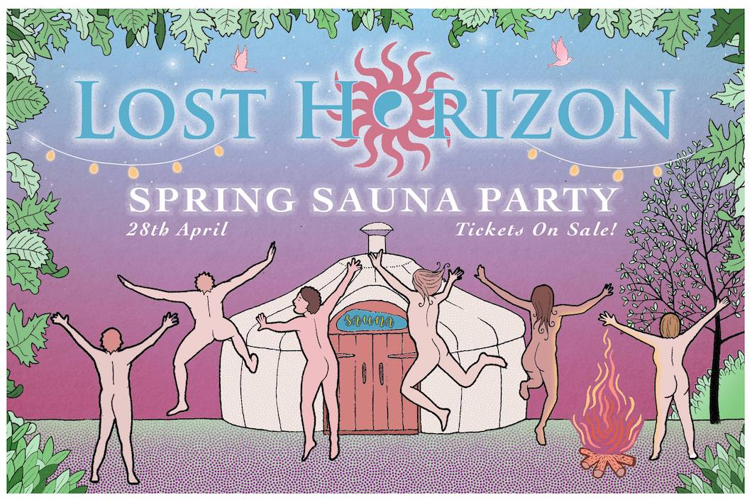 Lost Horizon Spring Sauna Party 2018 low res