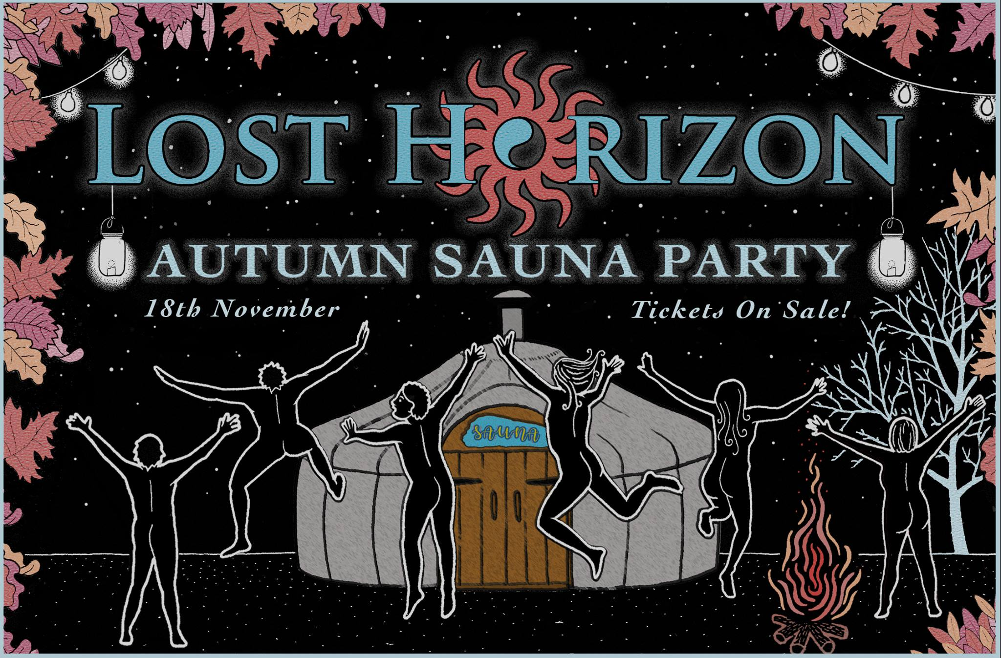 Lost Horizon Autumn Sauna Party 18th Nov Tickets On Sale
